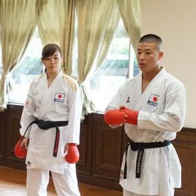 オリンピック・パラリンピック教育の一環で本宿小学校へ指導にいきました。