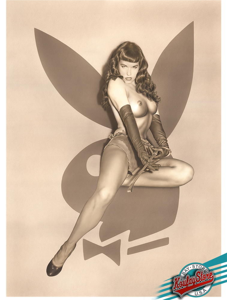Hand Signed /& Numbered,COA included Bettie PLAYBOY Koufay 1st.Limited Edition