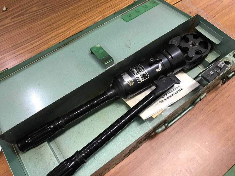 カクタス 油圧式圧着工具S-150D