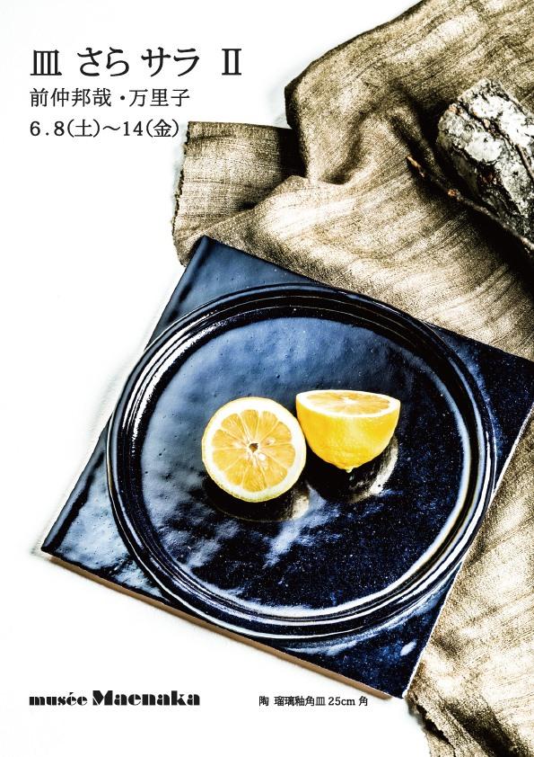 ミュゼ・マエナカにて『皿 さら サラ Ⅱ』前仲 邦哉・万里子 作品展