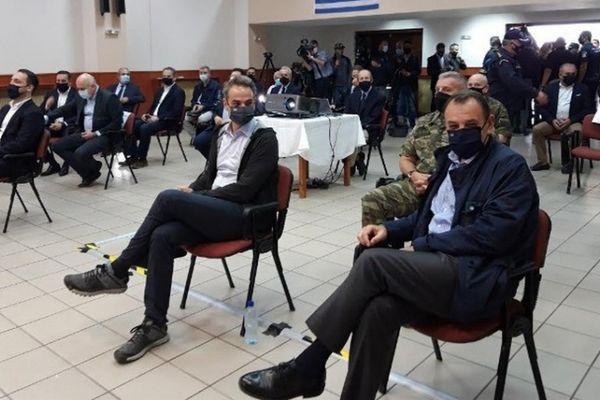 Μητσοτάκης: Ο φράχτης στον Έβρο γίνεται για να νοιώθουν ασφαλείς οι Έλληνες