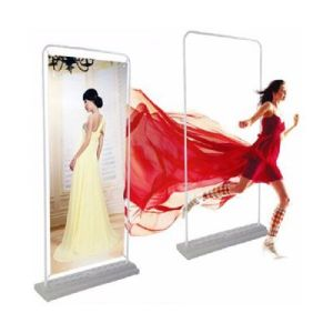 door shaped display