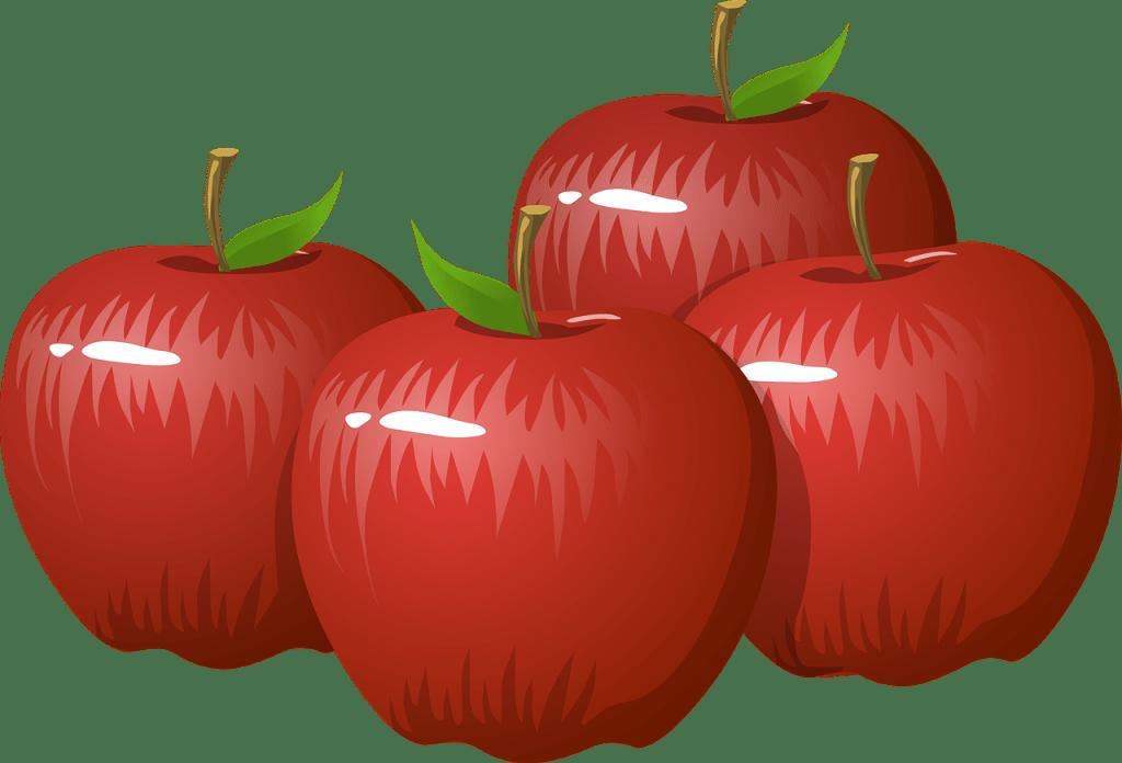 リンゴを用いたゲーム