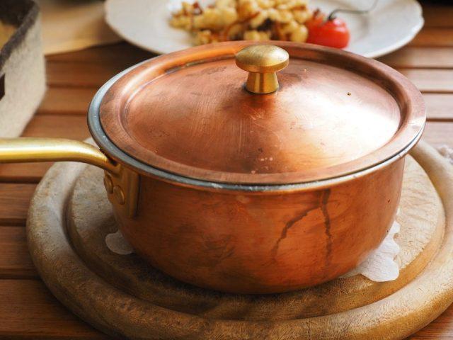 鍋の焦げ付きの取り方