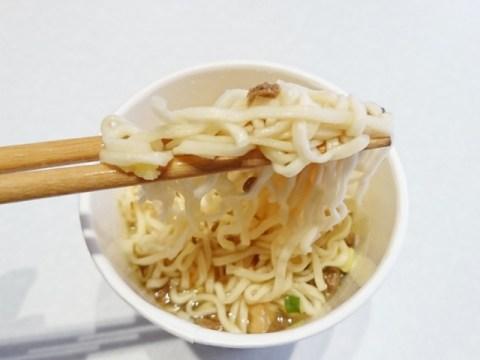 コスモス:カップめんの中で一番麺が美味しい商品