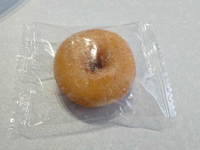StyleONE(スタイルワン):ミルクソフトドーナツを食べる