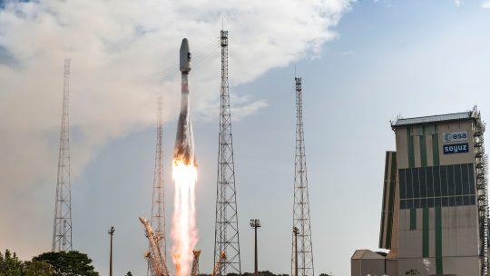 Mise en orbite réussie pour le 22ème vol Soyouz