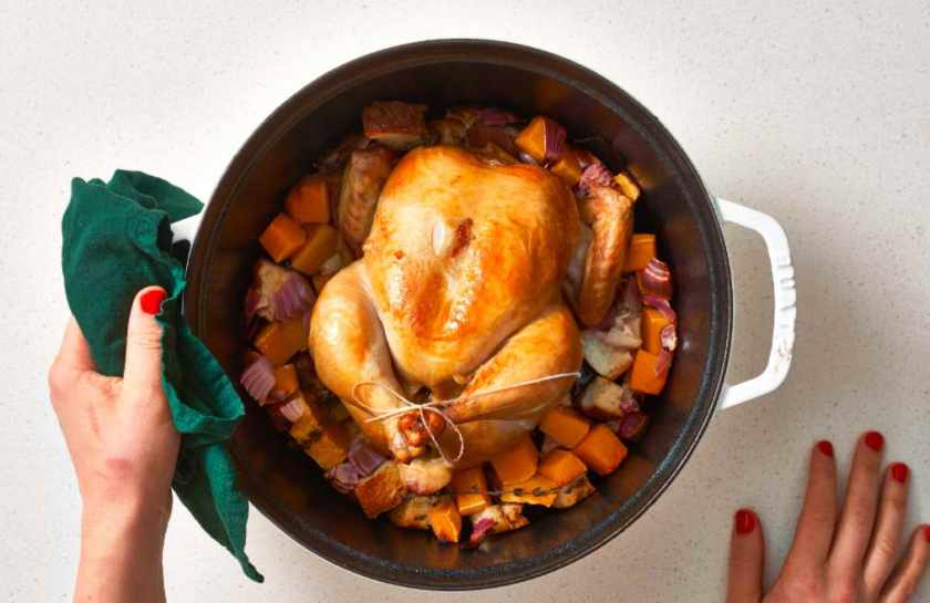 Pioneer Woman Slow Cooker Rotisserie Chicken