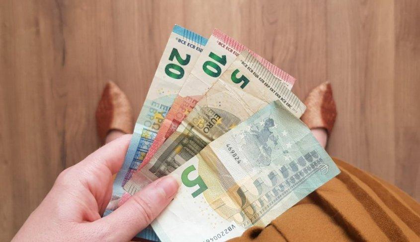 Sparen wisselend inkomen