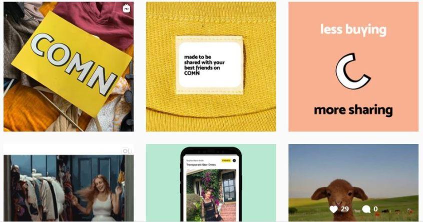COMN-app review en ervaringen: kleding delen