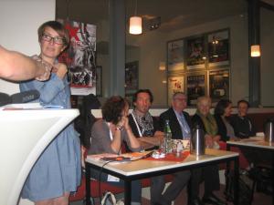 Sussanne Guggenberger at the DOK-Talks