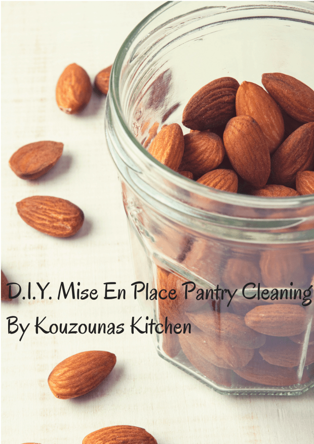 D.I.Y. Mise En Place Pantry Cleaning