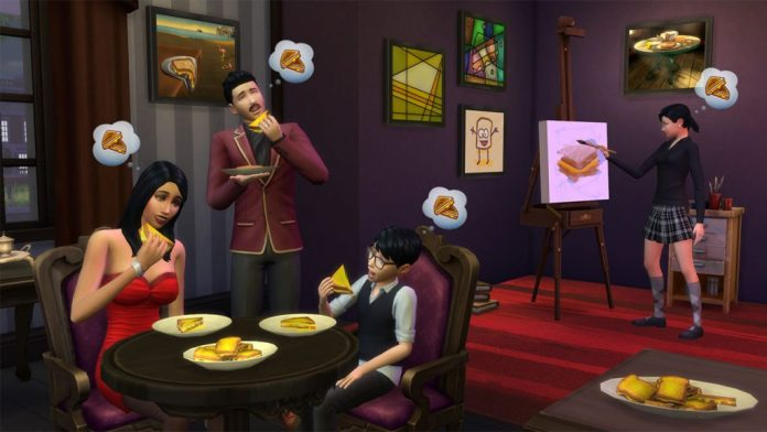 Grilled Cheese Opsesija - The Sims 4; Foto gamespot.com