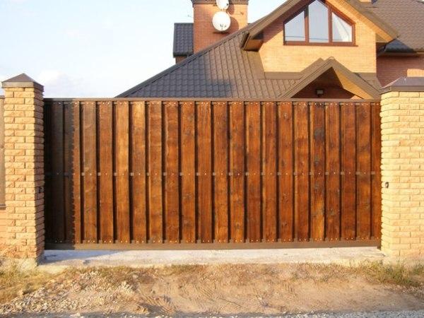 Откатные ворота, автоматические откатные и сдвижные ворота ...