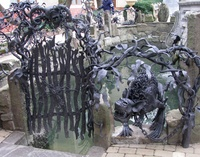 Скульптуры и инсталляции из металла — Художественная ковка ...