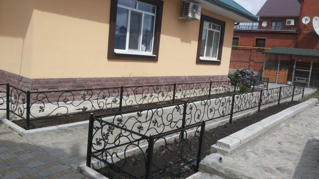 Кузницы Урала Газонные ограждения Цветочек