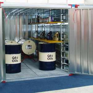 2.25m Chemical Containers