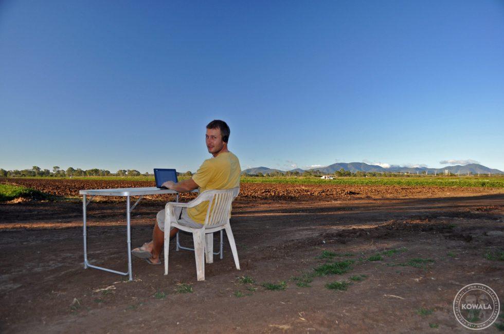 quitter son travail avant PVT WHV - nouveau bureau en Australie