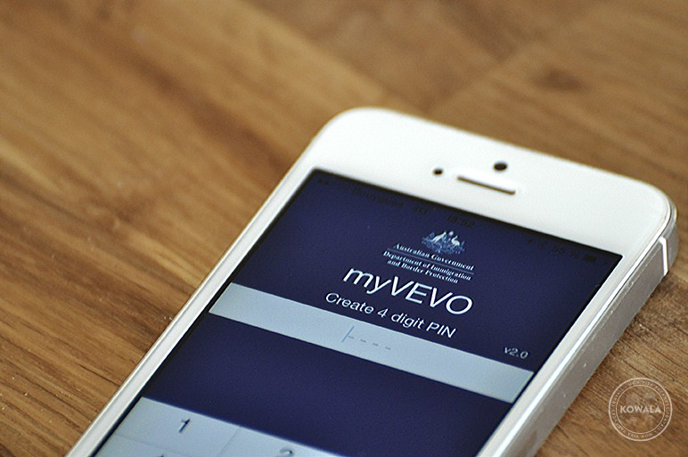 myVEVO, la nouvelle app de l'immigration australienne | Kowala