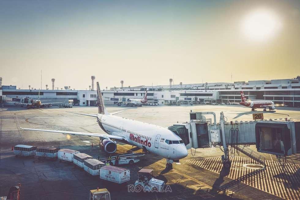 Avion de la compagnie low-cost Malindo