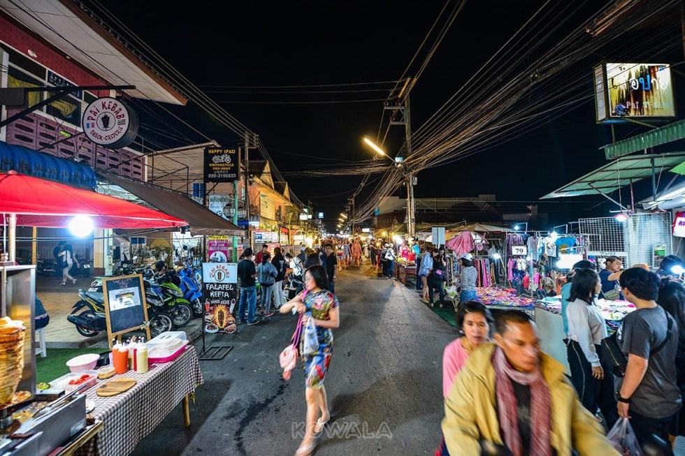 Les night market de Thailande