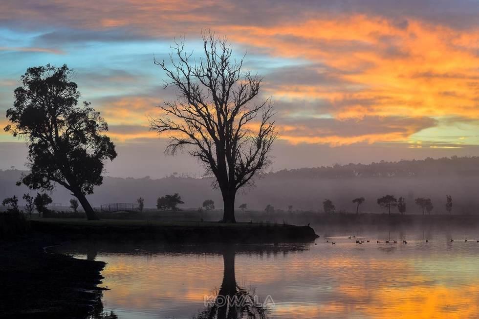pvt australie working holiday visa backpacker voyage travel whv margaret river vignoble lever de soleil