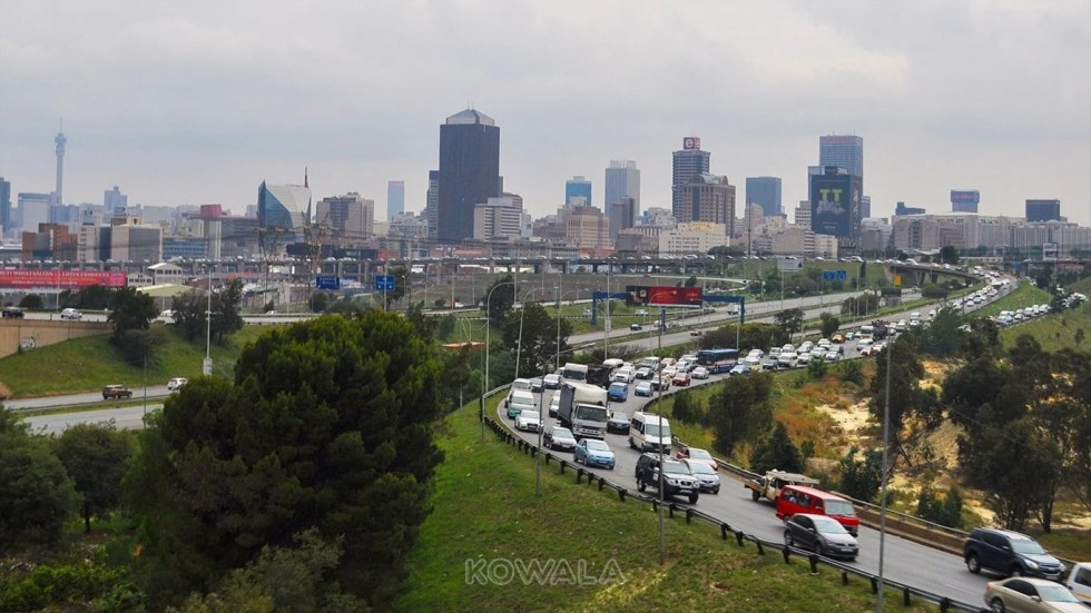 voie accès Johanesburg