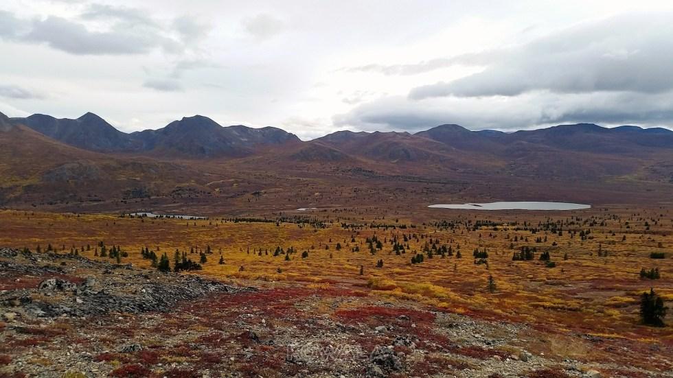 randonnées en automne au Yukon - Fish Lake