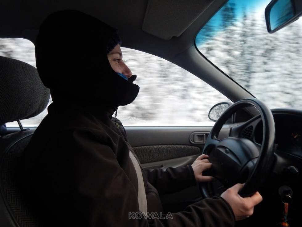 conduite hivernale, Yukon, Canada