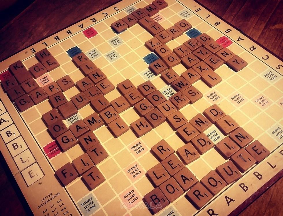 Jouer au scrabble en anglais pour s'améliorer