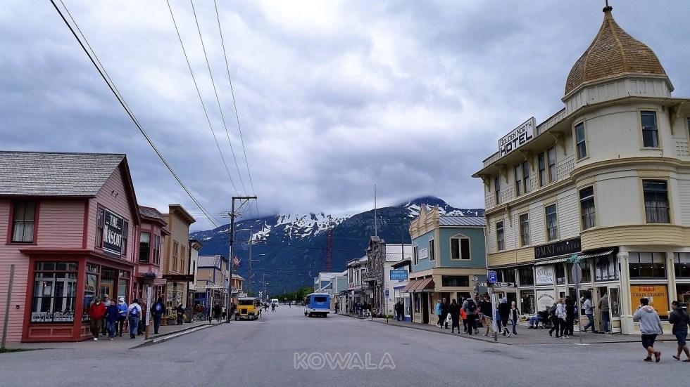 rue de skagway Alaska