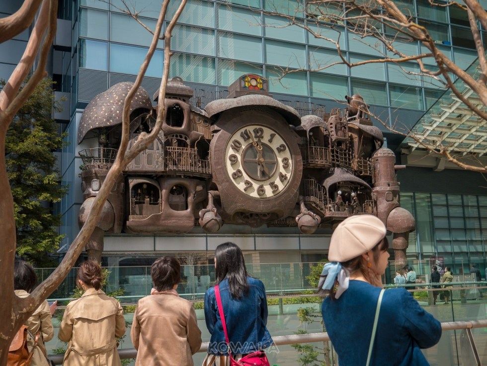 horloge ghibli tokyo