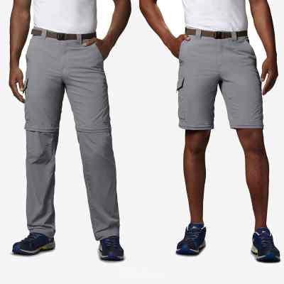 pantalon voyage convertible short