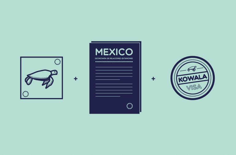 Visa PVT Mexique