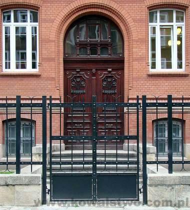 Kowalstwo - Ogrodzenie przy Sądzie Rejonowym w Szczecinie 1