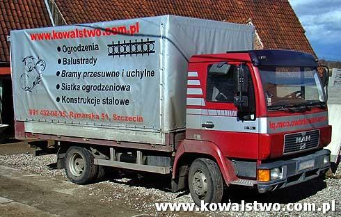 Kowalstwo, Bramy, Ogrodzenia, Siatka ogrodzeniowa Szczecin 4