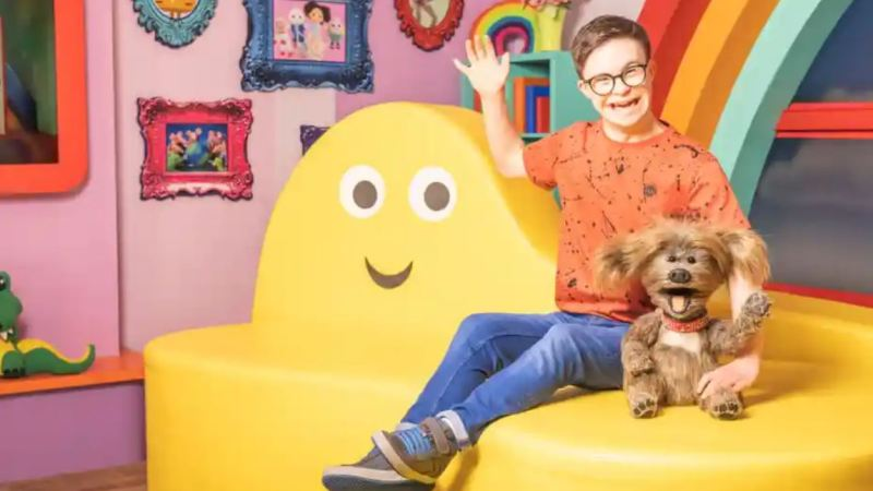 'I'm loving life,' says first CBeebies presenter with Down's syndrome