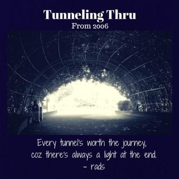 TunnelingThru - rads - facebook page - facebook - blog - post - celebration - quote -