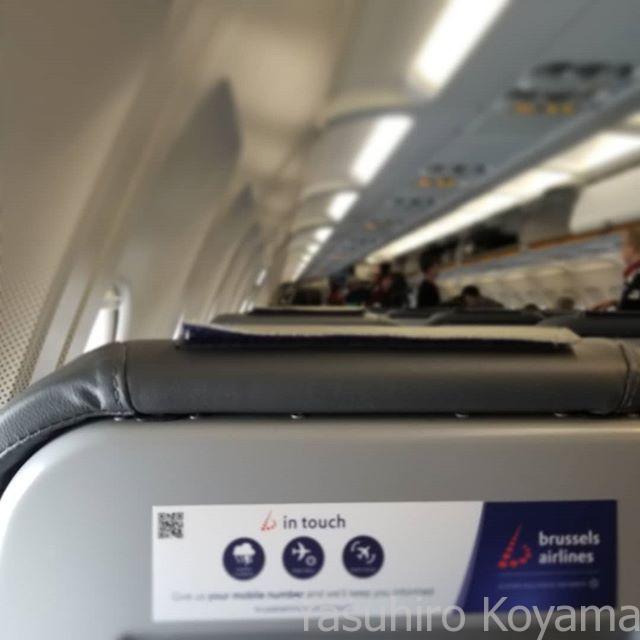 搭乗。まずは乗り換え地へ。