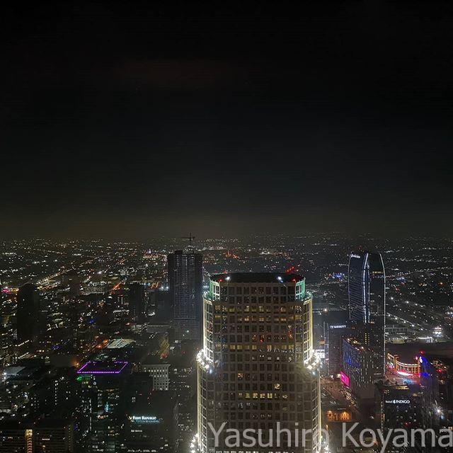 73階からの眺め。これで300メートルクラスの高さのホテルらしい。