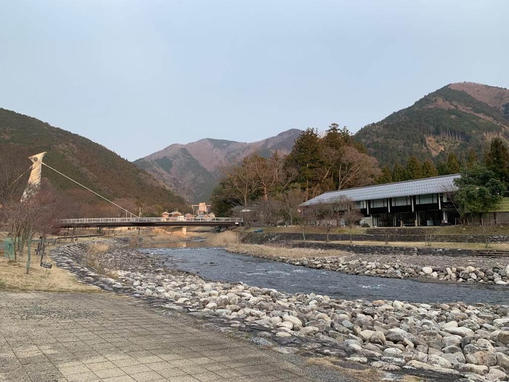 大河原温泉かもしか荘の景色