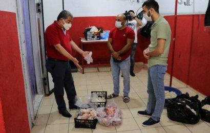 Adana'da yüzlerce kilo kokmuş et ve sakatat ele geçirildi