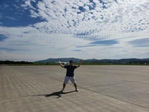 コザヒロinオホーツク紋別空港