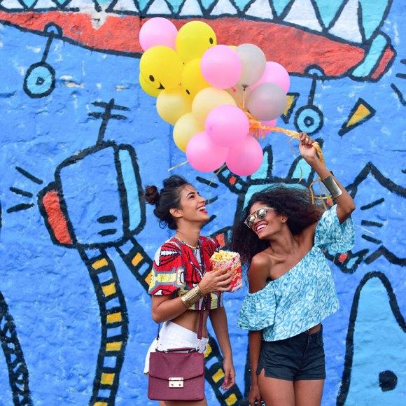 Karamelle dans les rues de Port Louis