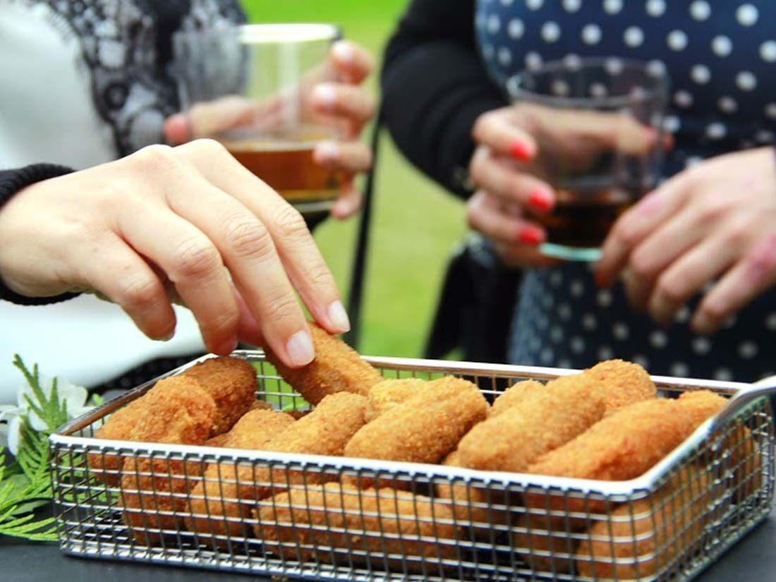 buffet croquetas catering madrid
