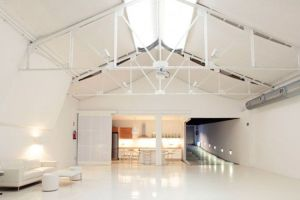 the white loft espacios urbanos con kozinart