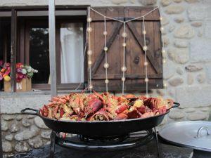 coctel y plato en bodas, catering madrid