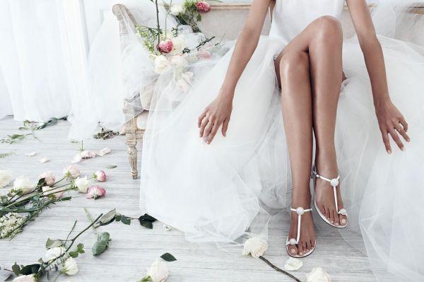 Colección de zapatos de novia de Stuart Weitzman 2016 1