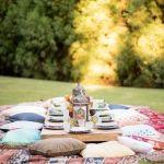mesa para banquete marroquí, catering madrid