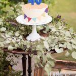 tarta minimalista, boda marroqui